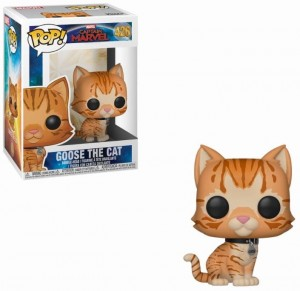 Figurka Captain Marvel POP! Goose The Cat