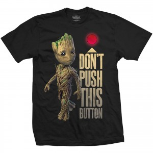Koszulka Guardians Of The Galaxy Groot Button