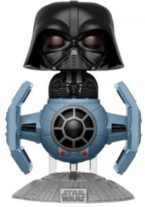 Figurka Star Wars POP! Darth Vader with Tie Fighter Exclusive