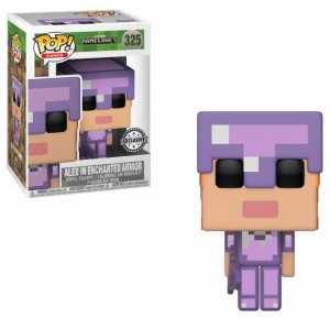 Figurka Minecraft POP! Alex in Enchanted Armor Exclusive