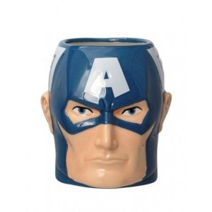 Kubek Marvel Super Hero Kapitan Ameryka 3D