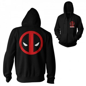 Bluza Deadpool rozpinana