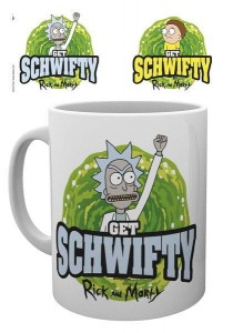 Kubek Rick and Morty Get Schwifty