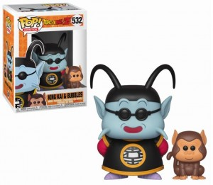 Figurka Dragon Ball Z POP! King Kai & Bubbles