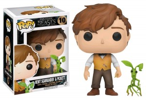 Figurka Fantastic Beasts POP! Newt & Pickett Exclusive