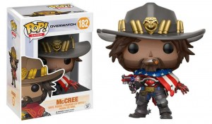 Figurka Overwatch POP! McCree USA Exclusive
