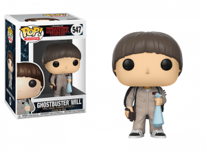 Figurka Stranger Things POP! Ghostbuster Will