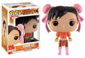 Figurka Street Fighter POP! Chun-Li Red Exclusive