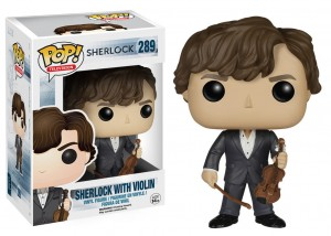 Figurka Sherlock POP! Sherlock with Violin
