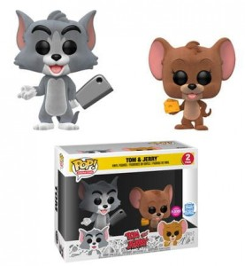 Figurki Tom and Jerry POP! 2-pack Flocked Exclusive