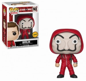 Figurka Money Heist POP! Berlin Mask CHASE