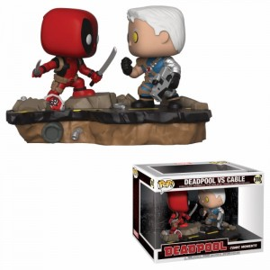 Figurka Marvel POP! Deadpool vs Cable Movie Moments