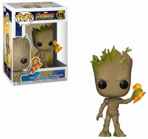 Figurka Avengers Infinity War POP! Groot with Stormbreaker