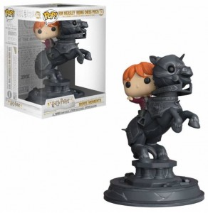 Figurka Harry Potter POP! Ron Riding Chess Piece 21 cm