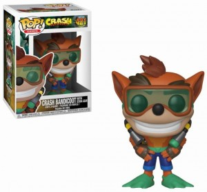 Figurka Crash Bandicoot POP! Crash Scuba
