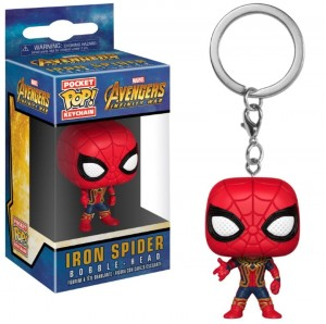 Brelok Avengers Infinity War Marvel POP! Iron Spider