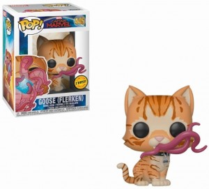 Figurka Captain Marvel POP! Flerken Goose CHASE Limited Edition
