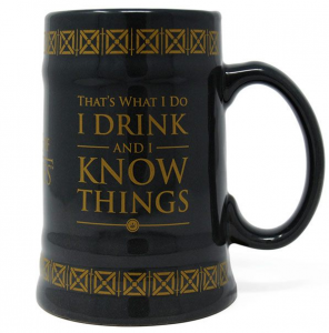 Kufel ceramiczny Gra o Tron Game Of Thrones Drink & Know Things