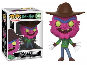 Figurka Rick and Morty POP! Scary Terry