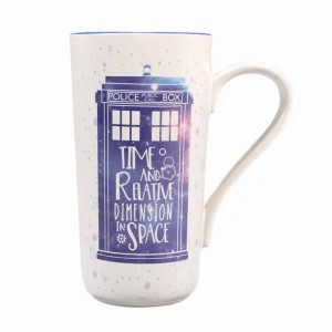 Kubek Doctor Who Tardis Latte