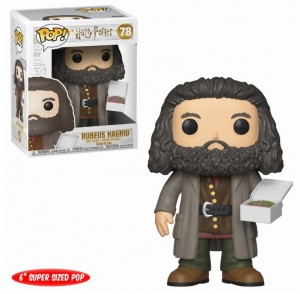 Figurka Harry Potter POP! Hagrid z Ciastem