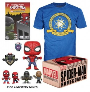 Pudełko Marvel Collector Corps Spider-Man Homecoming