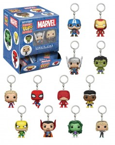 Brelok Funko Mystery Pocket POP! Marvel Comics