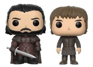 Figurka Gra o Tron Game Of Thrones  POP! Jon Snow & Bran Exclusive
