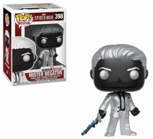 Figurka Spider-Man Game Marvel POP! Mister Negative