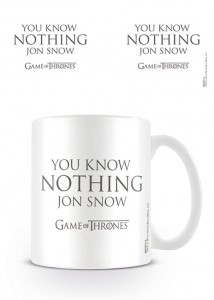 Kubek Gra o Tron You Know Nothing Jon Snow
