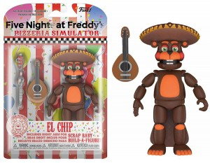 Figurka Five Nights at Freddys Funko El Chip 13 cm