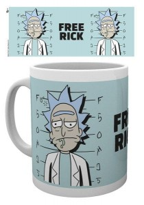 Kubek Rick and Morty Free Rick