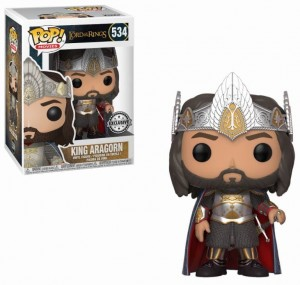 Figurka Lord Of The Rings POP! Aragorn King Exclusive
