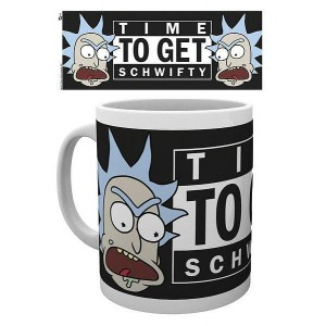 Kubek Rick and Morty Time To Get Schwifty