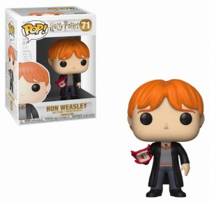 Figurka Harry Potter POP! Ron Weasley z Wyjcem