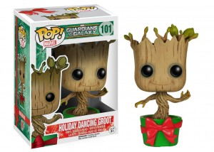 Figurka Marvel POP! Dancing Groot Holiday