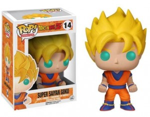 Figurka Dragon Ball Z POP! Super Saiyan Goku