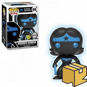 Figurka Justice League POP! Wonder Woman Silhouette GITD Exclusive *