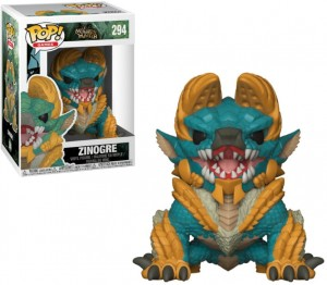 Figurka Monster Hunter POP! Zinogre