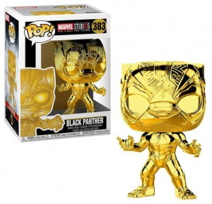 Figurka Marvel Studios 10 POP! Black Panther Chrome