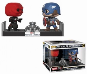 Figurka Marvel POP! Red Skull vs Captain America Movie Moments