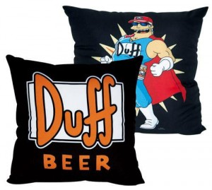 Poduszka Simpsons Duff Beer