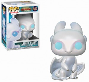 Figurka How To Train Your Dragon POP! Light Fury Biała Furia