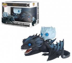 Figurka POP! Rides Game of Thrones Night King & Icy Viserion