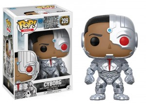 Figurka Justice League POP! Cyborg
