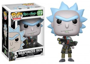 Figurka Rick and Morty POP! Weaponized Rick