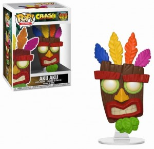 Figurka Crash Bandicoot POP! Aku Aku