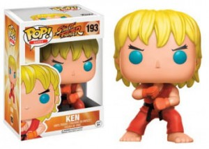 Figurka Street Fighter POP! Special Attack Ken Exclusive