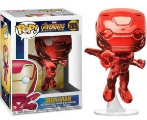 Figurka Marvel POP! Iron Man Red Chrome Exclusive