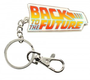 Brelok Back To The Future Logo
